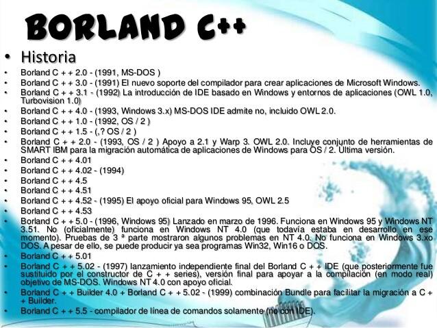 Borland C++ 5 5 Compiler Windows10 - NetsLovers