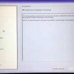 Enable Virtualization (Hypervisor) in BIOS/UEFI